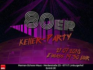 SPD 80er Jahre Party OV Limburgerhof